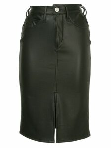 Mcguire Denim high-rise pencil skirt - Black