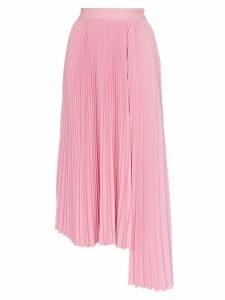 MSGM pleated asymmetric skirt - Pink
