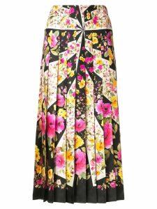 Gucci floral print skirt - Multicolour