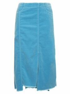 08Sircus midi straight skirt - Blue