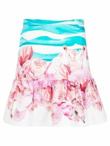 Isolda printed skirt - Blue
