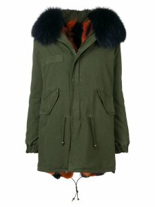 Mr & Mrs Italy reversible parka - Green