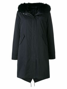 Yves Salomon Army fox fur parka - Blue