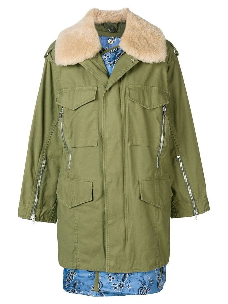 3.1 Phillip Lim oversized utility parka - Green