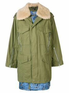 3.1 Phillip Lim Utility Jacket With Inner Vest - Green