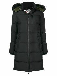 Moose Knuckles zipped up padded coat - Black