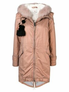 Peuterey hooded padded parka - Pink