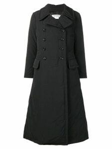 Comme Des Garçons Comme Des Garçons padded trench coat - Black