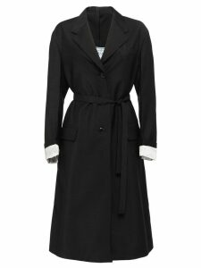 Prada belted trench coat - Black