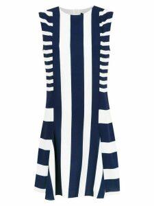 Gloria Coelho striped dress - Blue