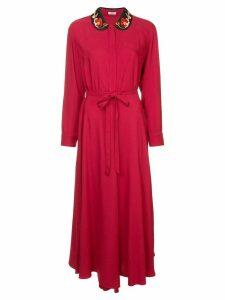 Vilshenko Claudine dress - Red