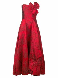 Bambah rose pin up dress - Red