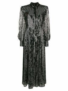 MSGM sequinned maxi dress - Black