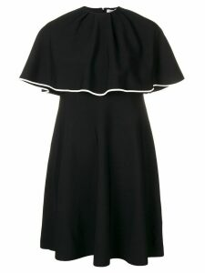 Valentino cape dress - Black