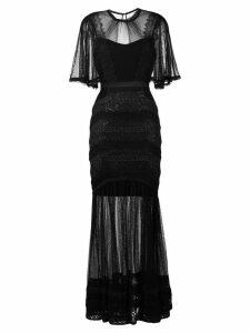 Three Floor Villainess dress - Black