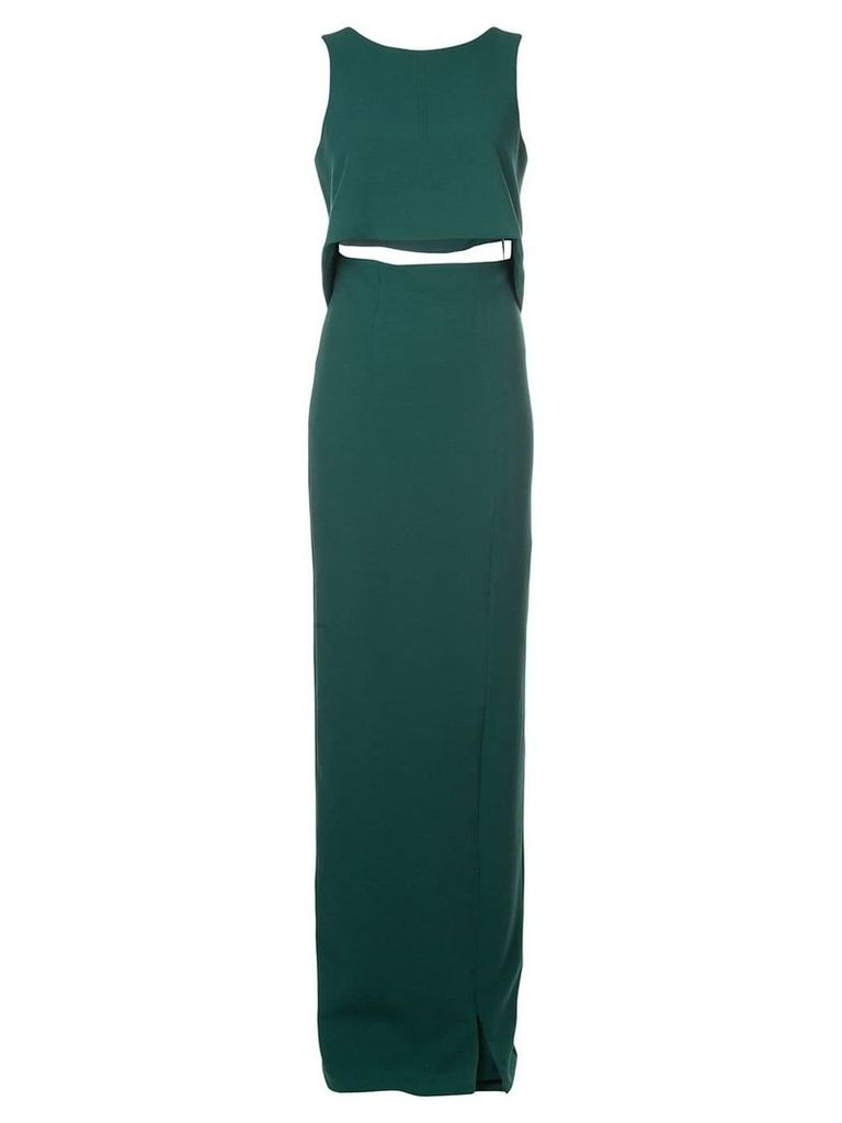 Black Halo Kacie two-piece maxi - Green