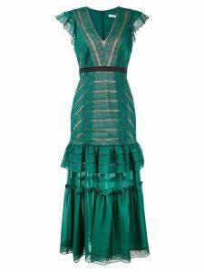 Three Floor Riverside dress - Green