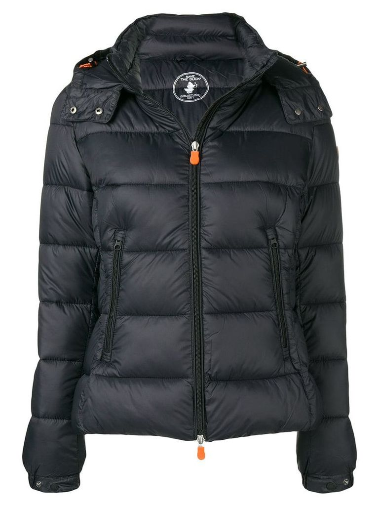 Save The Duck hooded padded jacket - Black