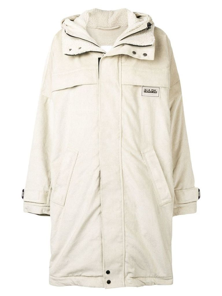 Napa By Martine Rose loose puffer jacket - Neutrals