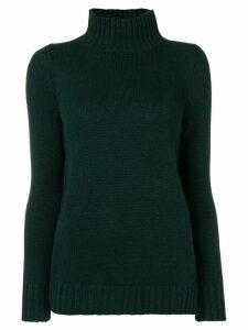 Aragona turtle neck jumper - Green