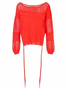 Manning Cartell cruise control sweater - Red