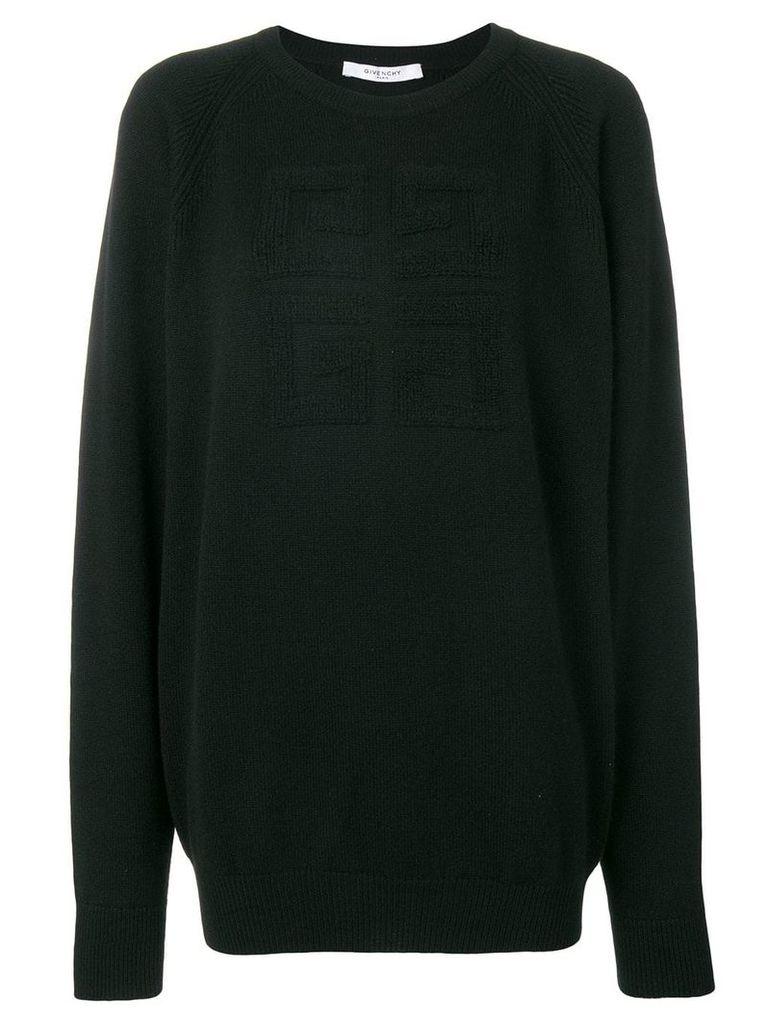 Givenchy basic logo jumper - Black