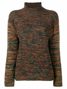Marni knitted melange sweater - Green