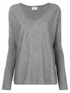 Snobby Sheep V-neck jumper - Grey