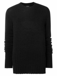 Ann Demeulemeester loose fitting sweater - Black