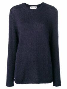Comme Des Garçons Girl fine knit jumper - Blue