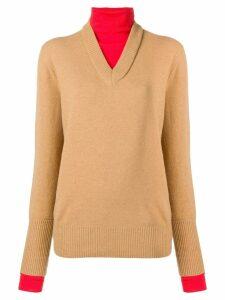 Joseph double knit sweater - Neutrals