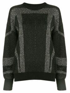 Iro striped jumper - Black