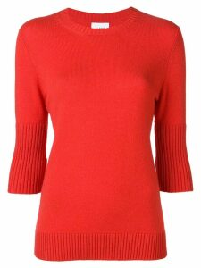 Barrie classic cashmere sweater - Red