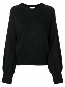 Dondup glitter-effect fitted sweater - Black