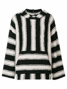 Amiri striped knitted top - Black