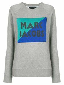 Marc Jacobs spliced logo sweatshirt - Grey