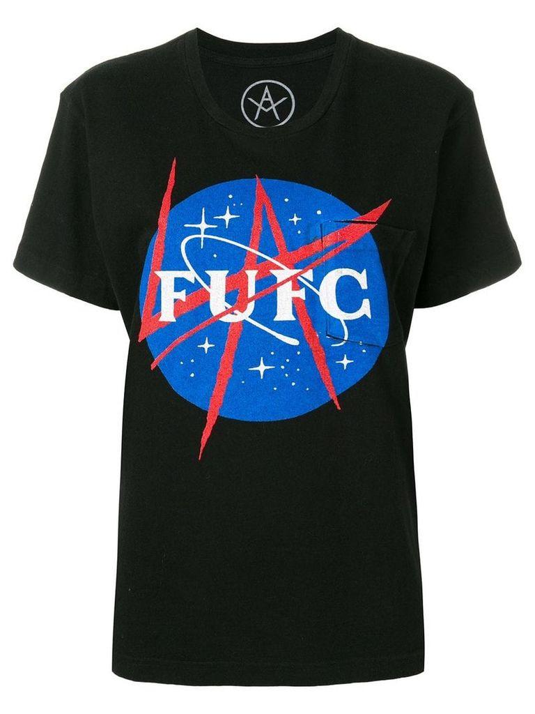 Local Authority Space Splash Pocket T-shirt - Black