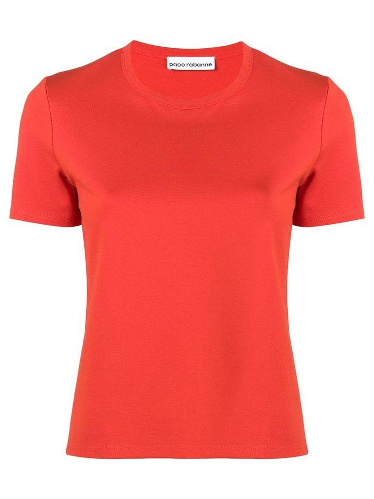 Paco Rabanne logo short-sleeve T-shirt - Orange