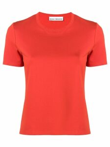 Paco Rabanne logo short-sleeve T-shirt - Orange