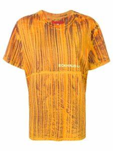 Eckhaus Latta oversized T-shirt - Orange