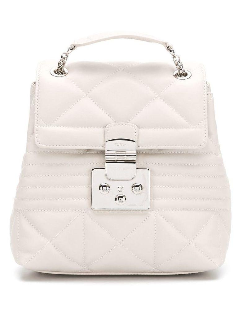 Furla Fortuna S backpack - Grey