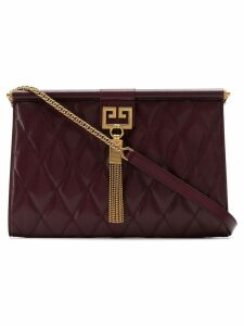 Givenchy medium Gem quilted bag - Red