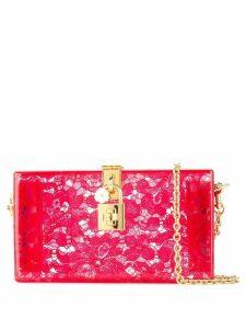 Dolce & Gabbana Dolce Box clutch - Red