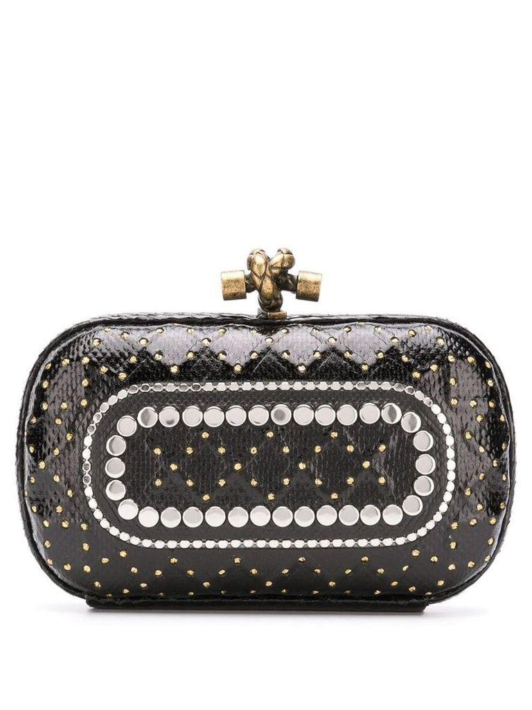 Bottega Veneta Knot clutch bag - Black
