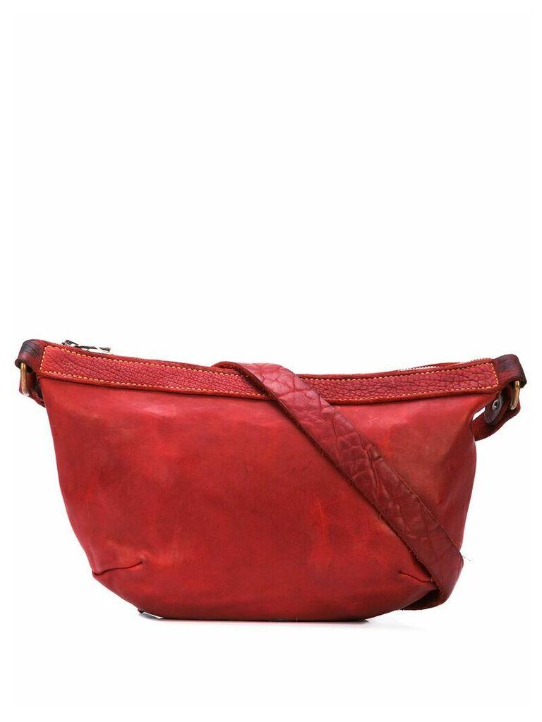 Guidi messenger bag - Red