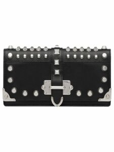 Prada Cahier studded mini bag - Black