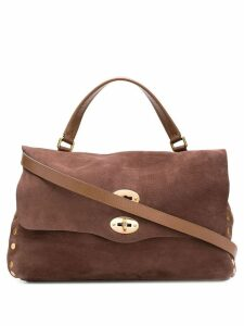 Zanellato Postina Jones shoulder bag - Brown