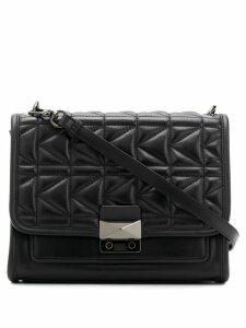 Karl Lagerfeld quilted shoulder bag - Black