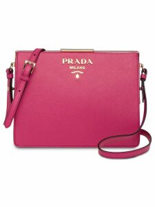 Prada Prada Light Frame Leather Bag - Pink