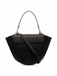 Wandler Black Hortensia Medium leather shoulder bag